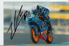 Alex Rins Hand Signed 7x5 Photo Estrella Galicia KTM Moto3 MotoGP 13.
