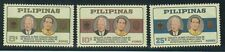 Philippine Stamps 1965 Pres. Luebke State Visit  complete set MNH