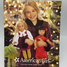 "American Girl Doll Catalog 2007 November Holiday Christmas Julie Ivy Nicki 11.5"""