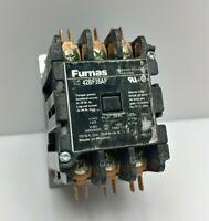 1x Furnas 42BF35AF Definite Purpose Controller SE&A 3 Pole 30A 120V 50/60Hz