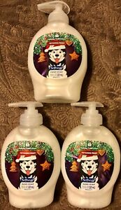 3 Bottles Softsoap Hand Soap Fetching Frost Holiday Collection Peppermint 7.5 OZ