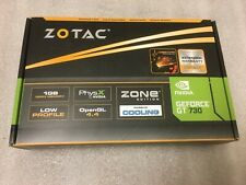 NEW ZOTAC NVIDIA GEFORCE GT 730 ZONE EDITION 1GB 64BIT DDR3 CARD - Low Profile