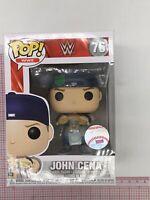 Funko Pop WWE John Cena 76 New York Yankees NOT MINT BOX O03