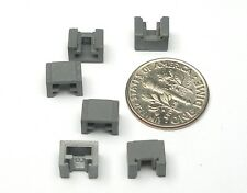 6pc Tyco Factory 440-X2 440-X3! Ho Slot Car Traction Magnet Plastic Retainers