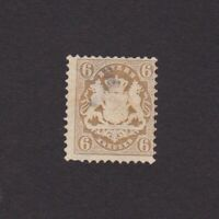 GERMANY 1870 BAVARIA, Mi# 24Y, CV €40, NG
