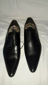 Patrick cox men KORD black lace up shoes size 11, Brand New with Box RRP 250
