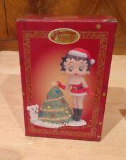 Rare 1999 Betty Boop San Francisco Music Box & Gift Co. Christmas Medley New Box