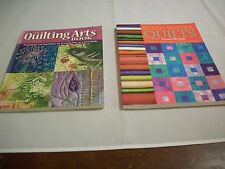 Quilt Books: (2):Stash-Buster Quilts/Lynne Edwards & Quilting Arts Book (358)