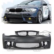 PARAURTI ANTERIORE PER BMW E81 E82 E87 E88 M1 LOOK SERIE 1 SPOILER KIT ESTETICO