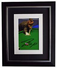 Judd Trump SIGNED 10x8 FRAMED Photo Autograph Display Snooker Sport AFTAL COA