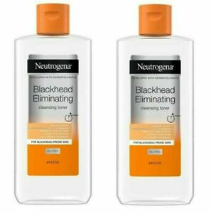 Neutrogena Blackhead Eliminating Cleansing Toner 200ml X2