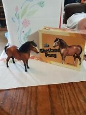 1960s Breyer matte bay  Shetland pony with original box