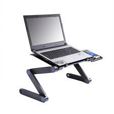 Table de lit ordinateur portable table bureau PC iPad support réglable pliable
