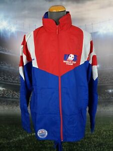 Adidas Vintage 90's 1994 Team USA World Cup Soccer Full Zip Hooded Jacket Sz L