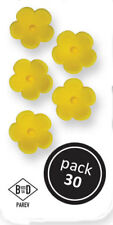PME Edible Medium Sugarpaste Flower Blossoms for Decorating Cup Cake Icing 30 pk