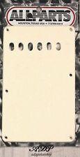 PLAQUE VIBRATO Tremolo BackCover STRAT US PARCHMENT OldWhite 1ply 56 PG-0556-051