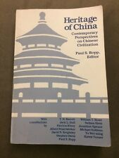 Heritage of China: Contemporary Perspectives on Chinese Civilization, Like New