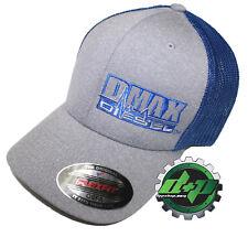 a56c592fc42 Dmax Duramax hat ball cap fitted flex fit flexfit stretch diesel OSFA BLUE