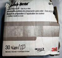 LOT OF 12 BOXES Norton Final Prep Bear-Tex Scuff Pads Gray NTN-58002   STOCK UP!