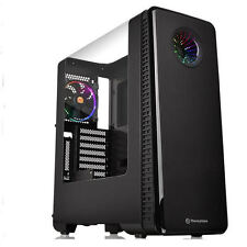 Thermaltake View 28 RGB Riing Edition (1 x 120m RGB Fan) Case, CA-1H2-00M1WN-01