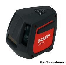 SOLA QUBO Professional Linien- u. Punktlaser Kreuzlinienlaser selbstnivellierend
