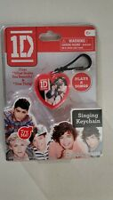 One Direction (1D) singing keychain What Makes You Beautiful & One Thing New NIB