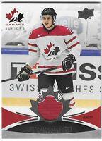 2016 UPPER DECK TEAM CANADA JUNIORS MITCHELL STEPHENS GAME-USED JERSEY #117