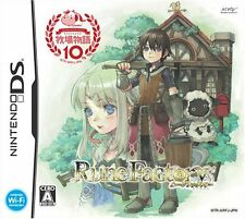 Used Nintendo DS Rune Factory: A Fantasy Harvest Moon Japan Import Free Shipping