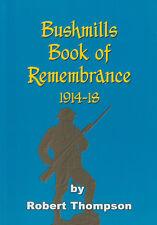 BUSHMILLS BOOK OF REMEMBRANCE 1914-1918