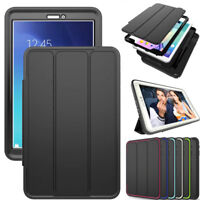 Shockproof Smart Cover Silicone Case For Samsung Galaxy Tab A S2 S3 E Tablets