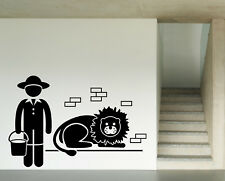 Vinyl Wall Decal Animals Related Jobs Occupations Careers Work (n884)