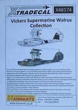 Xtradecal 1/48 X48174 Supermarine Walrus Decal set