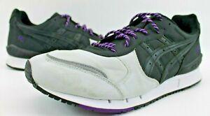 ASICS Mens Gel Classic Sneakers H6F3N 9090 Black Gray Purple Size 10 US 9 UK