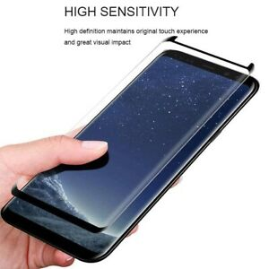 For Samsung S8,S9 AND  Plus Front Gorila Tempered Glass Screen Protector Cover .
