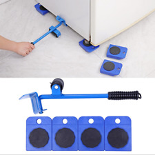 5Pcs Furniture Mover Lifter Easy Slides Transport Lifting Heavy Hand Tool Set US