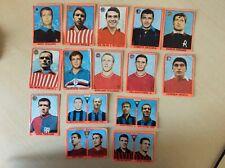 15 figurine calciatori Mira 1967-68