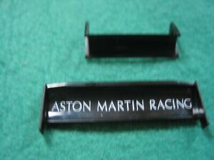 Repro Scalextric RUA15 ASTON MARTIN DBR9 - BLACK TAMPO PRINTED 2 PART NEW