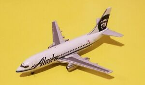 Gemini Jets / Schuco 1:400 Alaska Airlines 737-200 Combi 90s Livery N730AS Rare