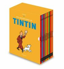 The Adventures of Tintin Complete Set by Herge (2019, Hardcover)