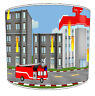 Boys Trucks Lampshade Ideal To Match Fire Engine Duvets & Fire Truck Wall Decals