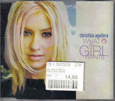 Christina AGuilera-What a girl Wants cd maxi single