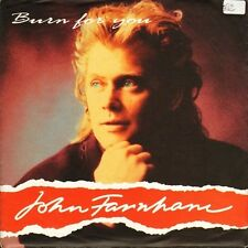 "JOHN FARNHAM burn for you/the time has come PB 44215 gemm 1991 7"" PS EX/EX sos"