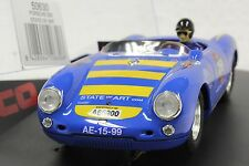 NINCO 50630 PORSCHE 550 SPYDER 20,000 RPM NEW 1/32 SLOT CAR IN DISPLAY CASE