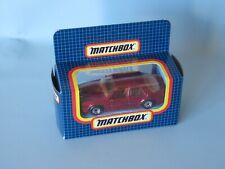 Matchbox Saab 9000 Turbo Met Red Body Toy Model Car 70mm Boxed Macau