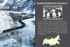 Micronesia - Trans Siberian Railway - Souvenir Sheet - MNH