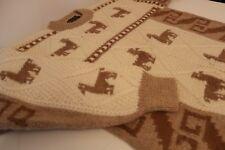 Authentic Llama Thick Jumper - Made in Peru - Aborigin Printed - L - Mint Cond.