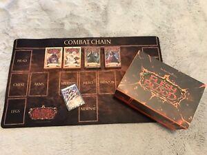 Flesh & Blood TCG Official Playmat - Ira & Monarch Blitz Decks - War Storage Box