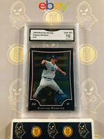 2009 Bowman Chrome Clayton Kershaw #72 - 10 GEM MINT GMA Graded Baseball Card