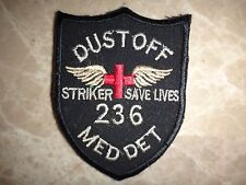 Vietnam War Patch US Army 236th Medical Detachment DUSTOFF STRIVE TO SAVE LIVES