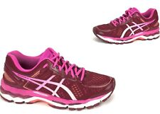Asics Gel KAYANO 22 FluidRide Running Shoes Sneakers Deep Ruby Sz Women's 8.5